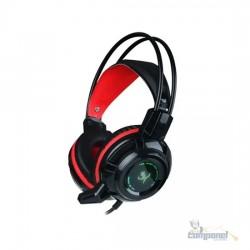 Fone De Ouvido Para Jogos com microfone X7 Light Gamer - Misde